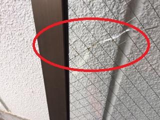 台東区 蔵前 ガラス修理後