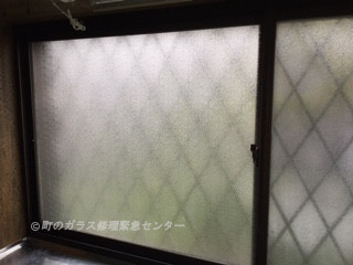 墨田区 押上 ガラス修理後