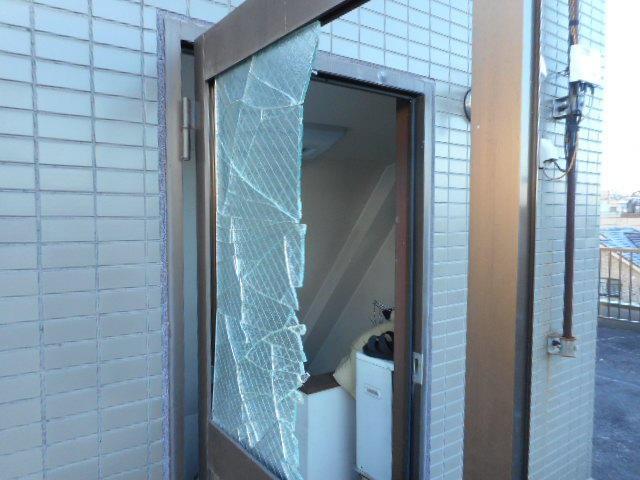 葛飾区 ガラス修理