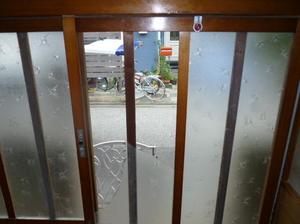 足立区 江北 窓ガラス修理・交換