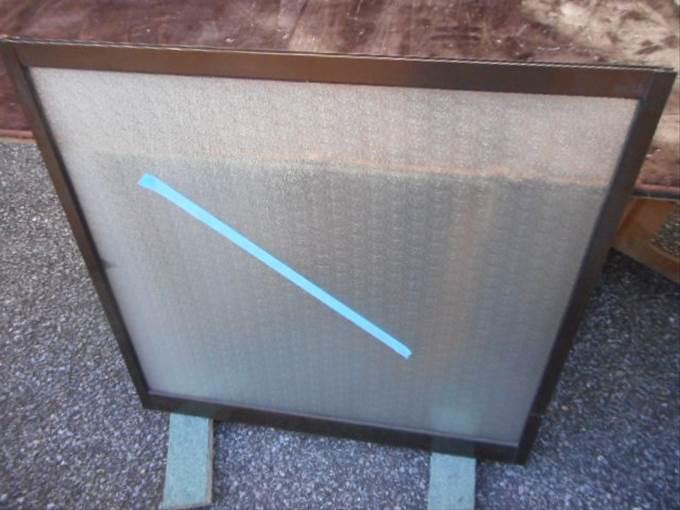 足立区 谷中ガラス修理後