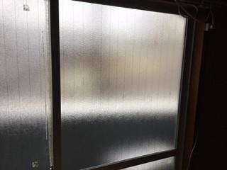 足立区 西伊興 ガラス修理後