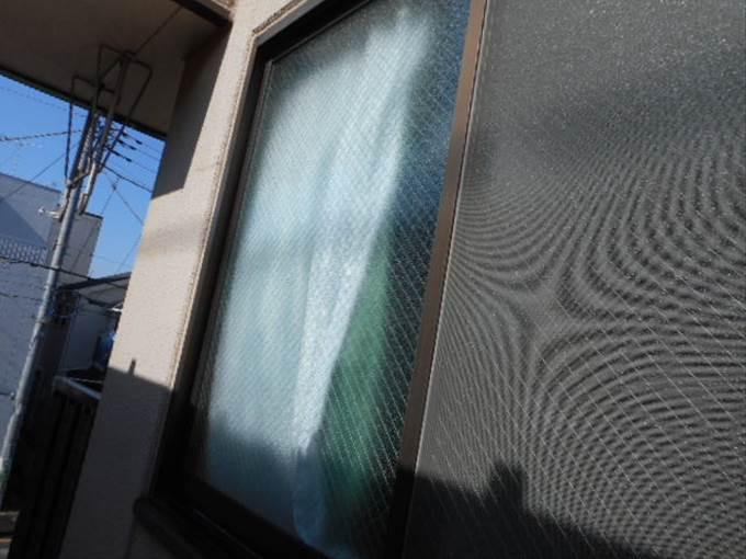 足立区  ガラス修理後NO3