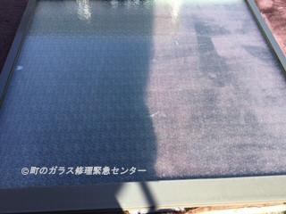台東区 東浅草 ガラス修理後