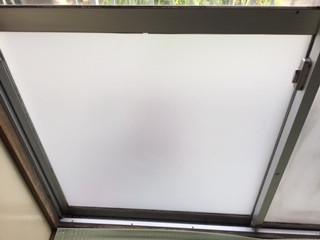 足立区 平野 ガラス修理後