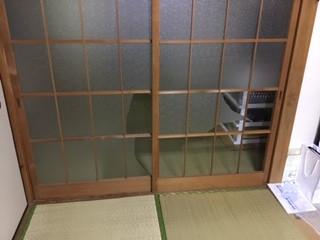 葛飾区 青戸 2ミリ厚さガラス修理・交換