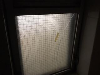 墨田区 業平 ヒビガラス修理・交換