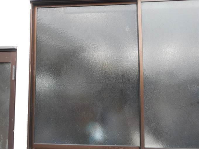 葛飾区 ガラス修理後