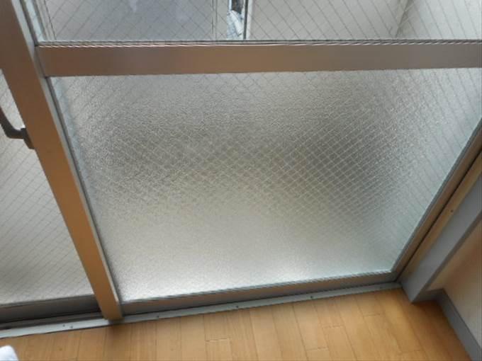足立区 ガラス修理後 NO2