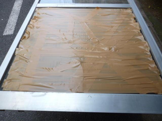 葛飾区 堀切 ガラス修理