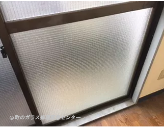 墨田区 太平 ガラス修理後