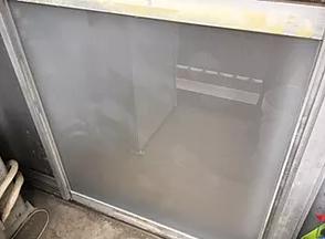 足立区 西保木間 ガラス修理後