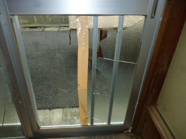 葛飾区 窓ガラス修理
