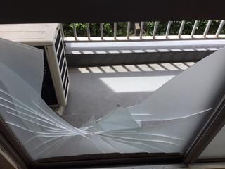 葛飾区 東新小岩 ガラス修理後
