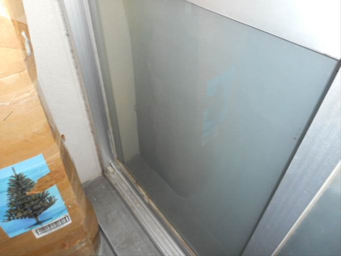 足立区 六ツ木のガラス修理後