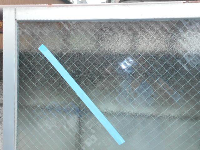 足立区 中川 窓ガラス修理・交換後