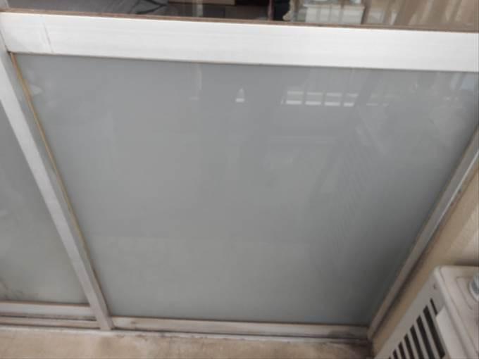 足立区 東保木間のガラス修理後