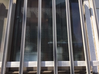 足立区 中窓 ガラス修理後
