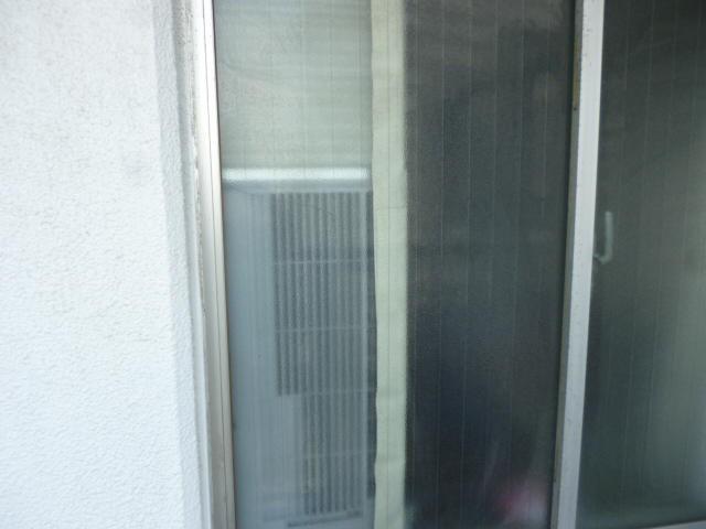 足立区 鹿浜 窓ガラス修理