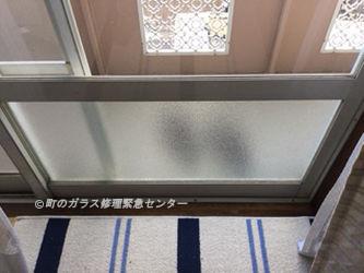 墨田区 本所 ガラス修理語
