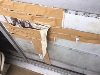 墨田区 業平 転居の為の窓ガラス修理・交換