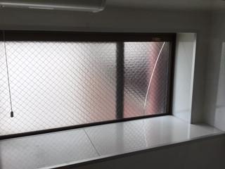 足立区 栗原 ガラス修理前r