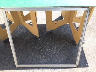 葛飾区 鎌倉 ガラス修理前