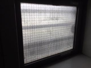 葛飾区 水元 ガラス修理前