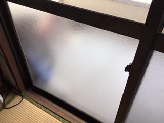 足立区 弘道 ガラス修理後