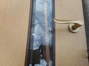 江戸川区 ガラス修理前