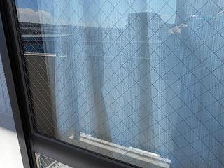 網入り透明ガラス