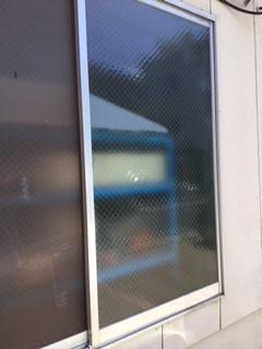 板橋区 舟渡のガラス修理後