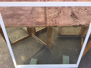 板橋区 四葉 ガラス修理後