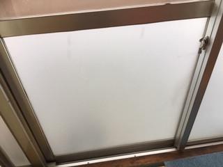 足立区 六月 ガラス修理後