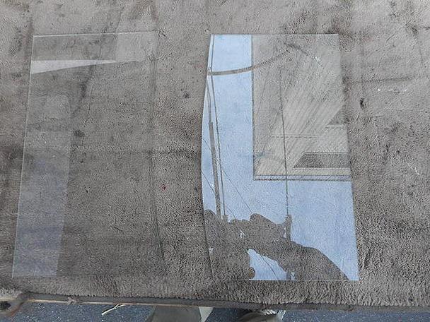 台東区 谷中 ガラス修理