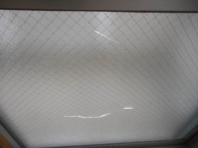 足立区 ガラス修理前 NO1