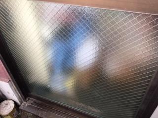 足立区 加賀 ガラス修理後