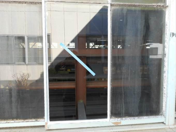 足立区 入谷ガラス修理後