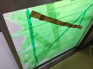 葛飾区 青戸 都営住宅のガラス修理・交換