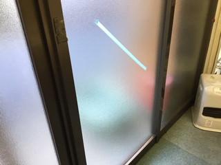 葛飾区 堀切 ガラス修理後