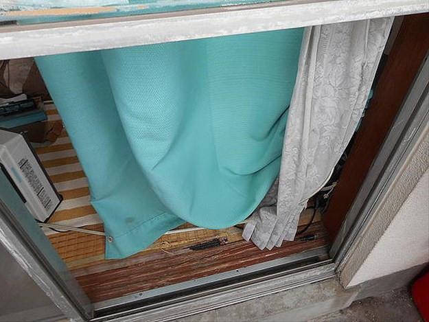 足立区 西新井本町 ガラス修理