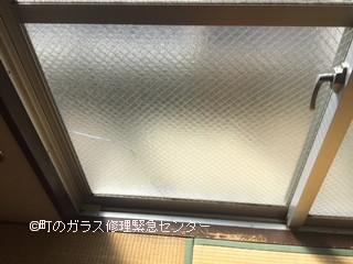 墨田区 江東橋 ヒビガラスの修理・交換