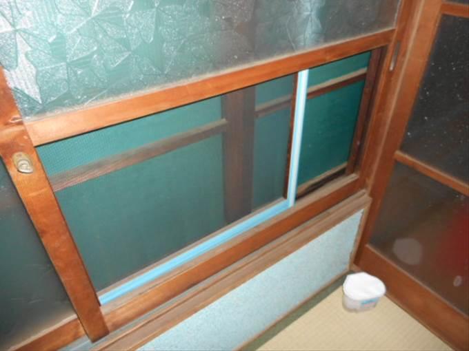 葛飾区 新宿 ガラス取付前