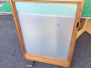 足立区 鹿浜 ガラス修理後