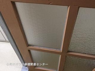 葛飾区 小菅 ガラス修理後
