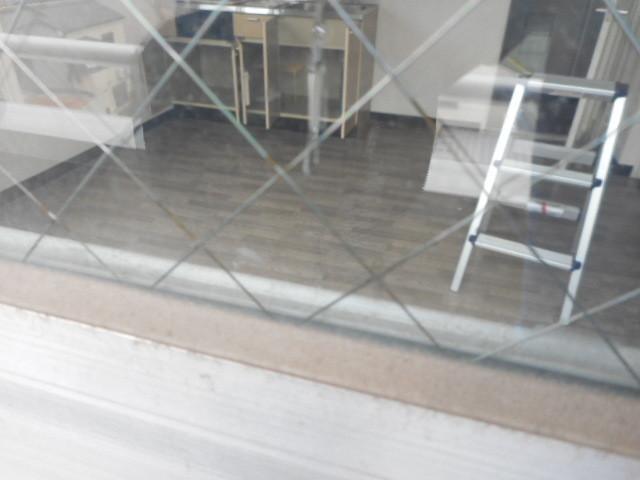 墨田区 八広 ガラス修理前