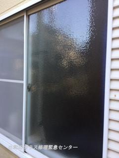 足立区 小台 ガラス修理後