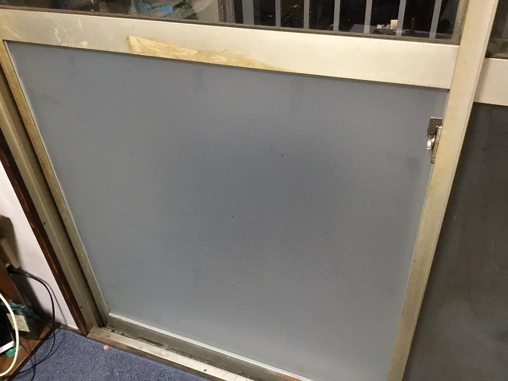 足立区 保木間 ガラス修理後