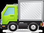 ガラス修理トラック