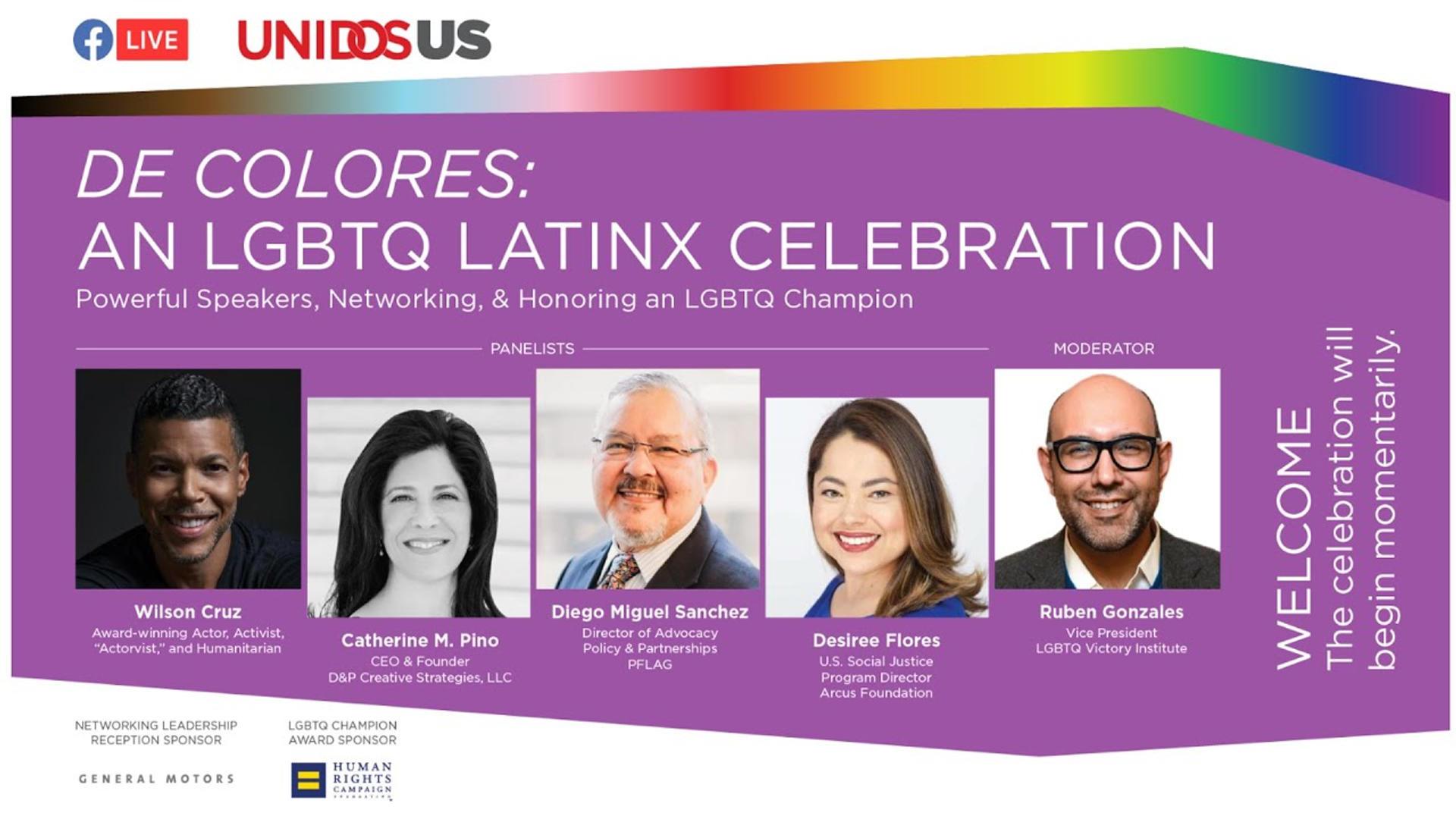 Catherine Pino Speaks at LGBTQ Latinx Celebration